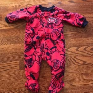 Pajamas - Dad s MVP Football Foot Blanket Sleeper ... 4e7154f98